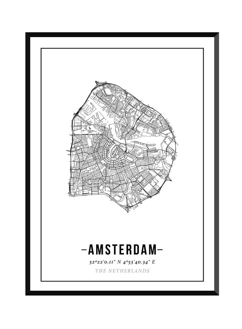 Poster van Amsterdam