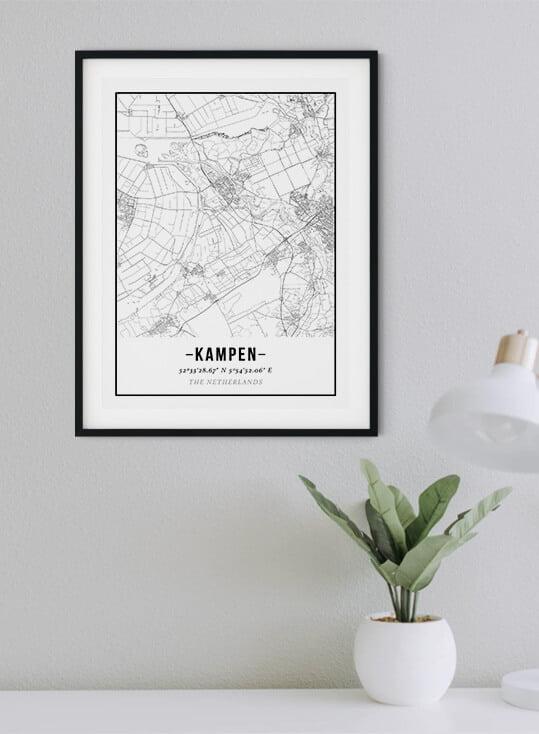 Woonplaats poster van de Posterkamer