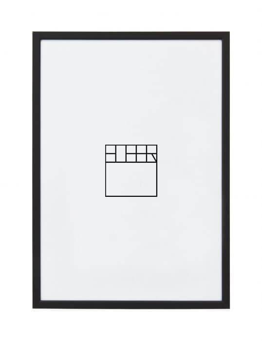 A4 – Zwart Budget (Aluminium)