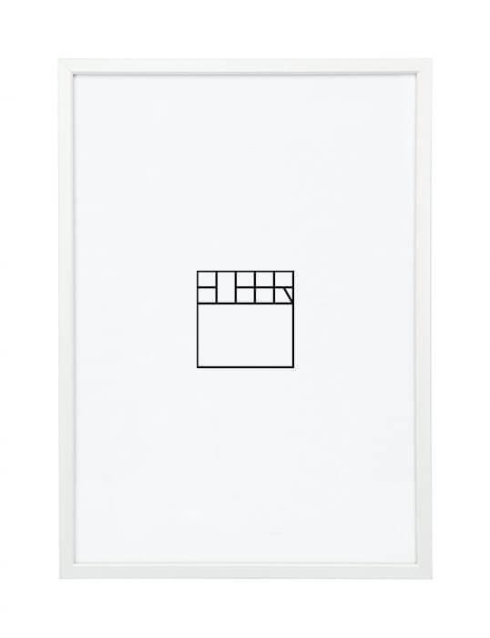 A3 – Wit (Aluminium)