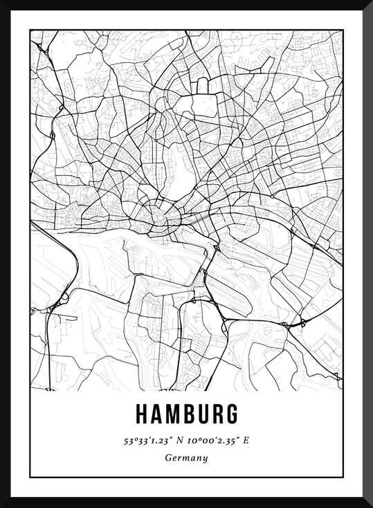 Poster van Hamburg