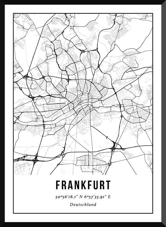 Poster van Frankfurt