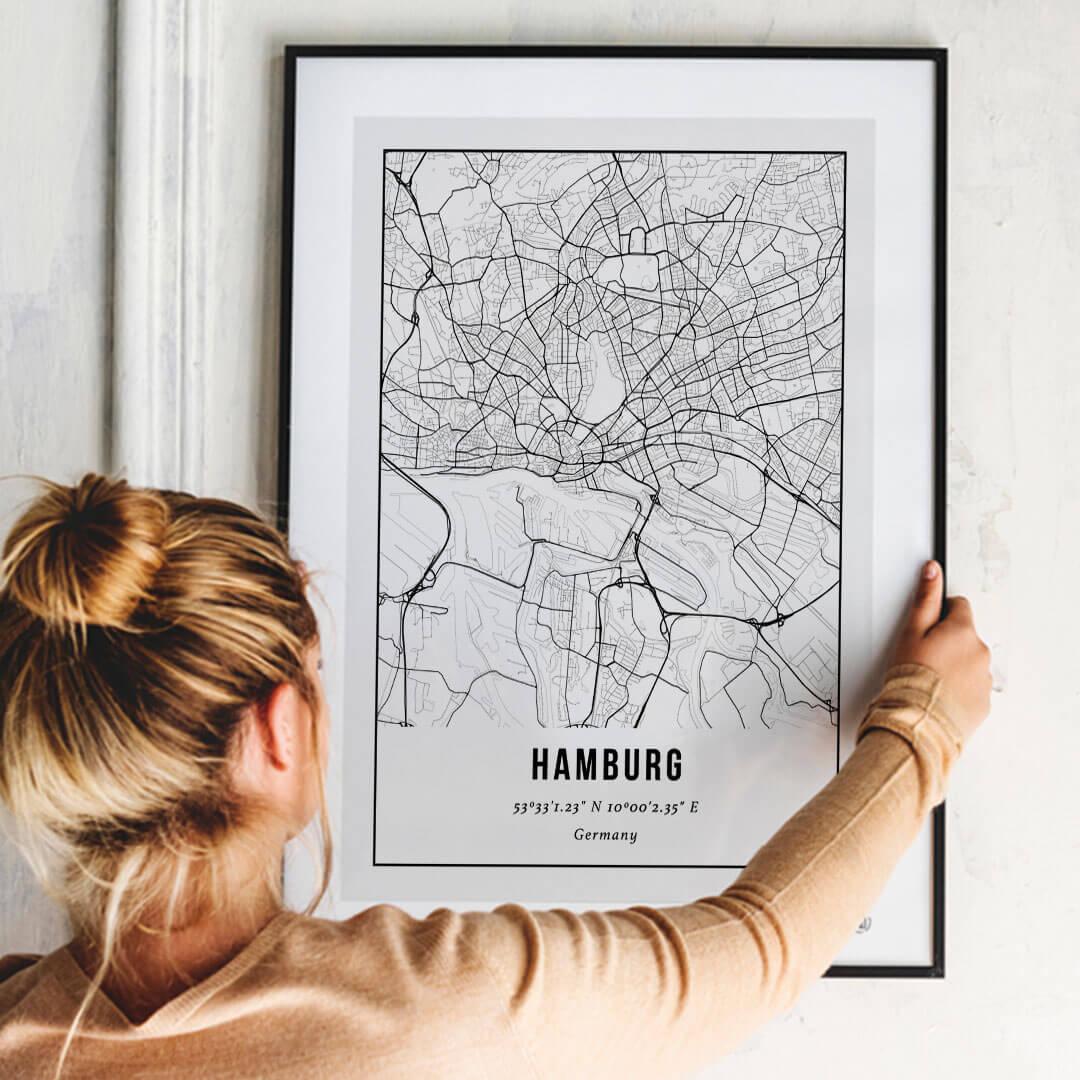 City Map Hamburg