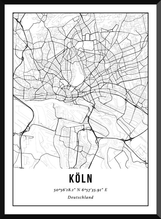 City Map Keulen