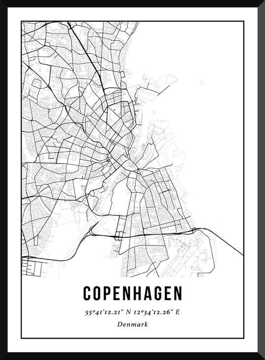Poster van Kopenhagen