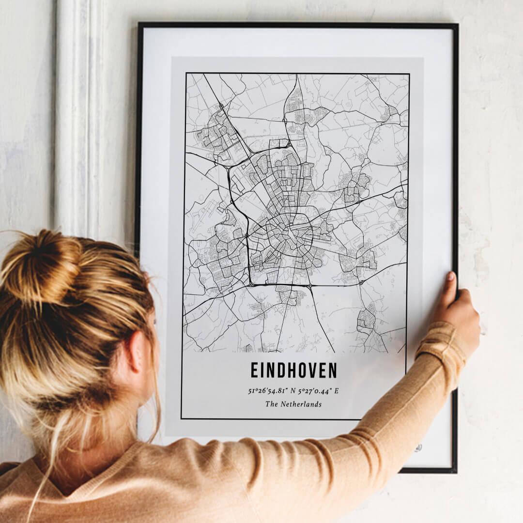City Map Poster van Eindhoven