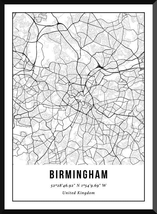 Poster van Birmingham