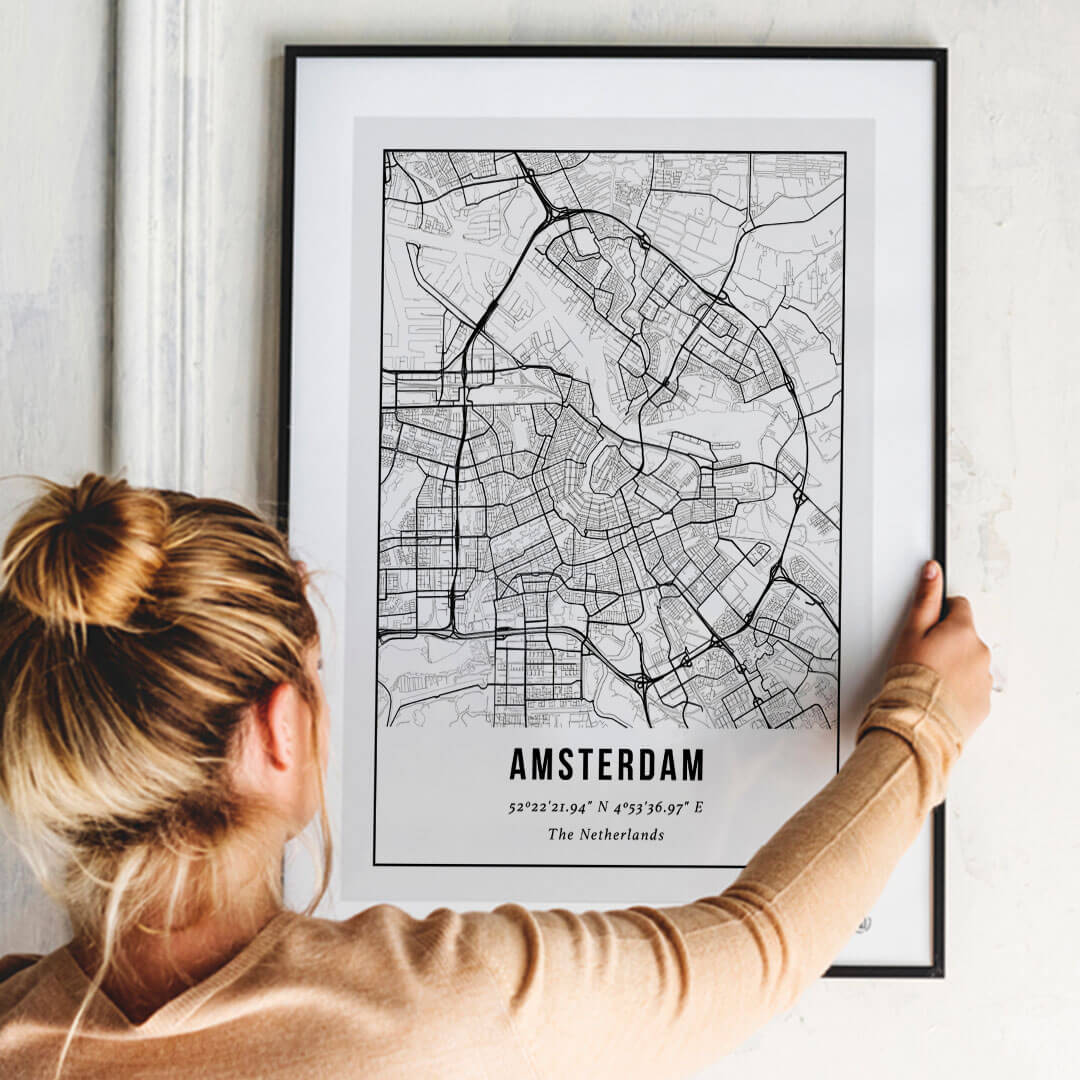 City Map Poster Amsterdam