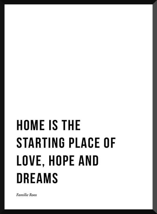 Quote poster bij de Posterkamer