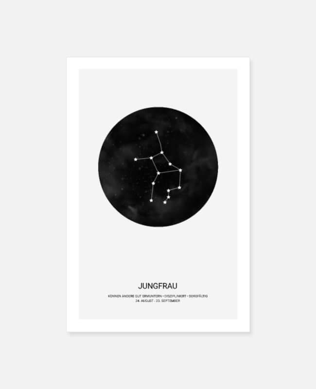 sterrenbeeld vissen poster
