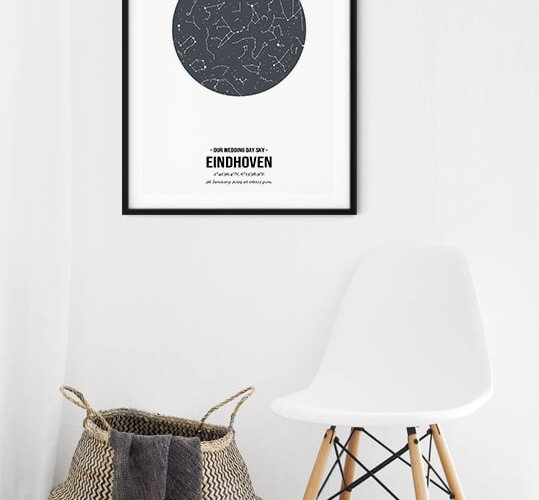 Starmap poster - de posterkamer